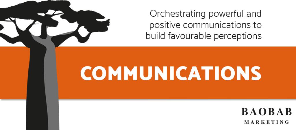 Baobab Marketing's Communications Service