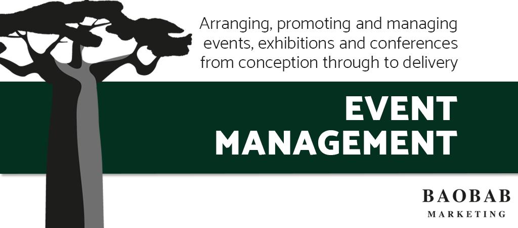 Baobab Marketing's Event Management Service
