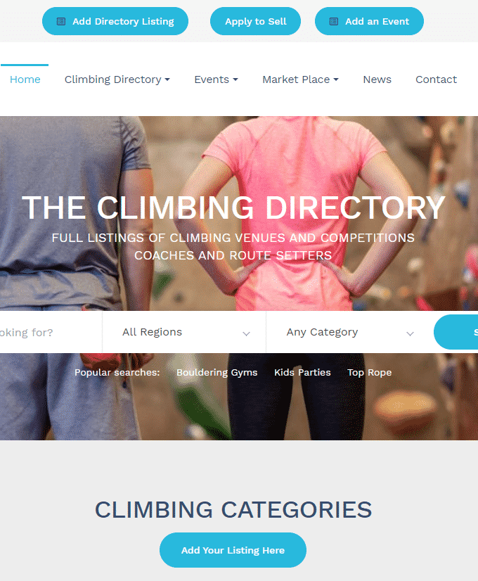 The Climbing Directory