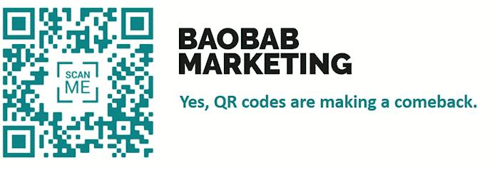Baobab Marketing QR Code