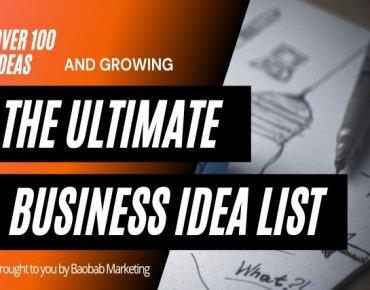 100+ Business ideas